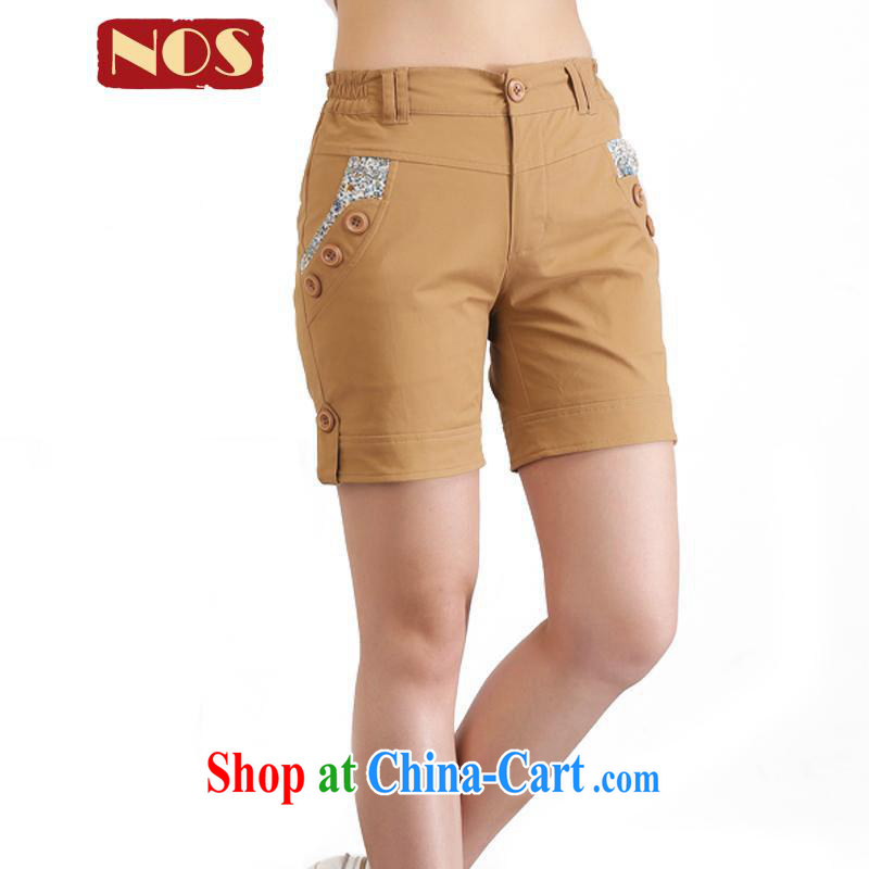 NOS Korean version the code female new summer shorts stylish and simple stamp mentioned and cultivating pants D 50,101 card its color the code 5 XL