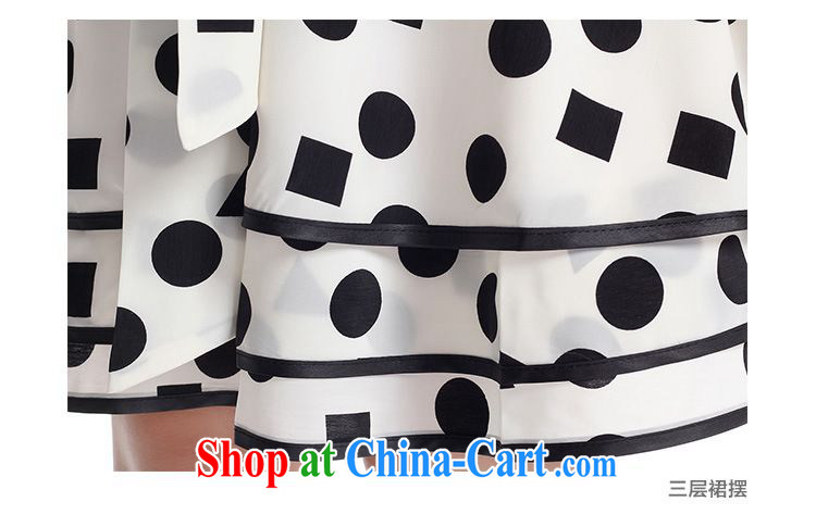 Left Sophie 2015 summer the Code women mm thick Korean video thin thick sister wave point sleeveless vest loose dresses white XL pictures, price, brand platters! Elections are good character, the national distribution, so why buy now enjoy more preferential! Health