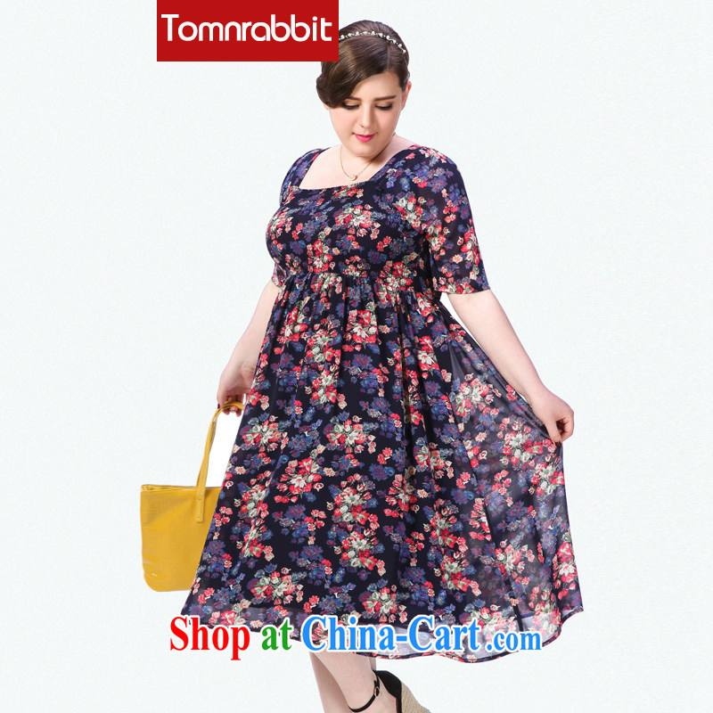 The Code women's clothing dresses and indeed increase 200 Jack thick sister summer skirt picture color the code 6 XL _pre-sale 5 15 Shipment_