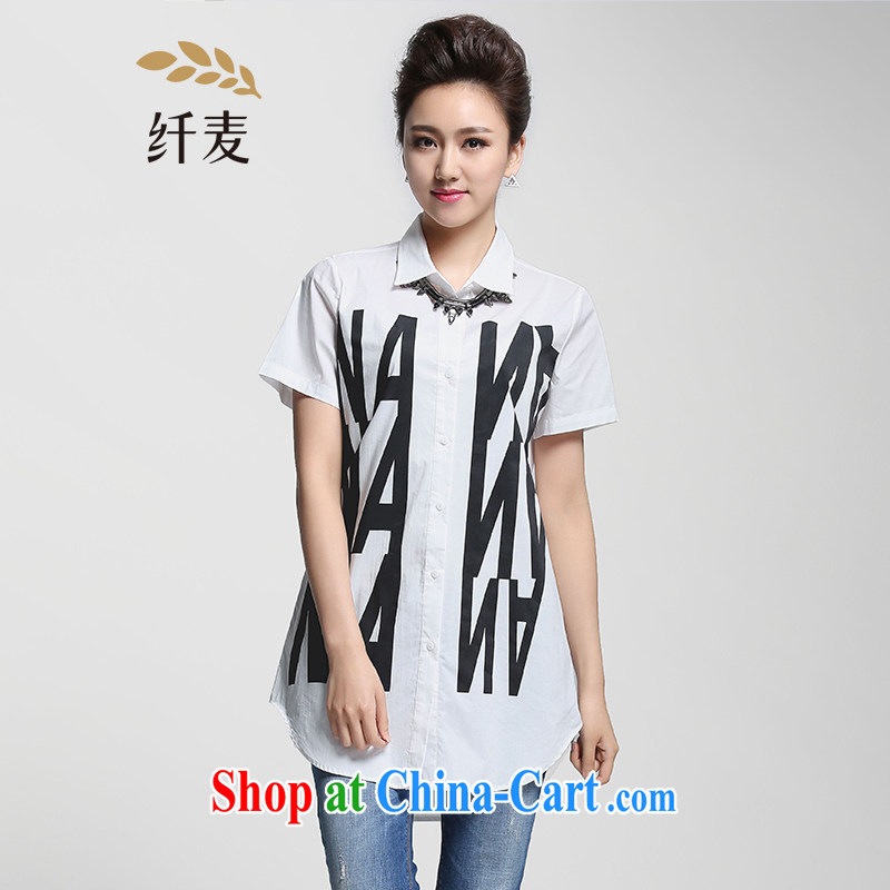 Former Yugoslavia, Mr Big, female 2015 summer new thick mm stylish letter stamp personalize your own shirt 952013242 white 2XL