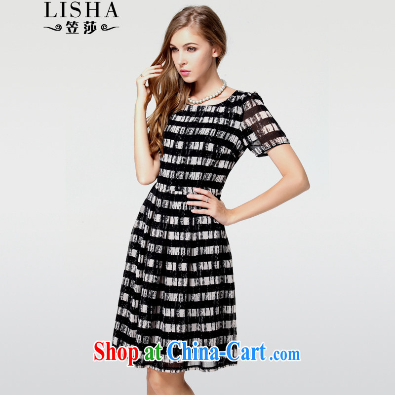 She considered the Code women dresses 2015 summer and indeed increase snow streaks woven thick sister 200 Jack dresses 743 photo color XXXXL