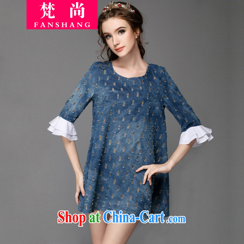 O'Neill could bring about 2015 the United States and Europe, women, summer and indeed increase short-sleeved thick girls with graphics thin, blue jeans dresses 200 Jack blue XXL