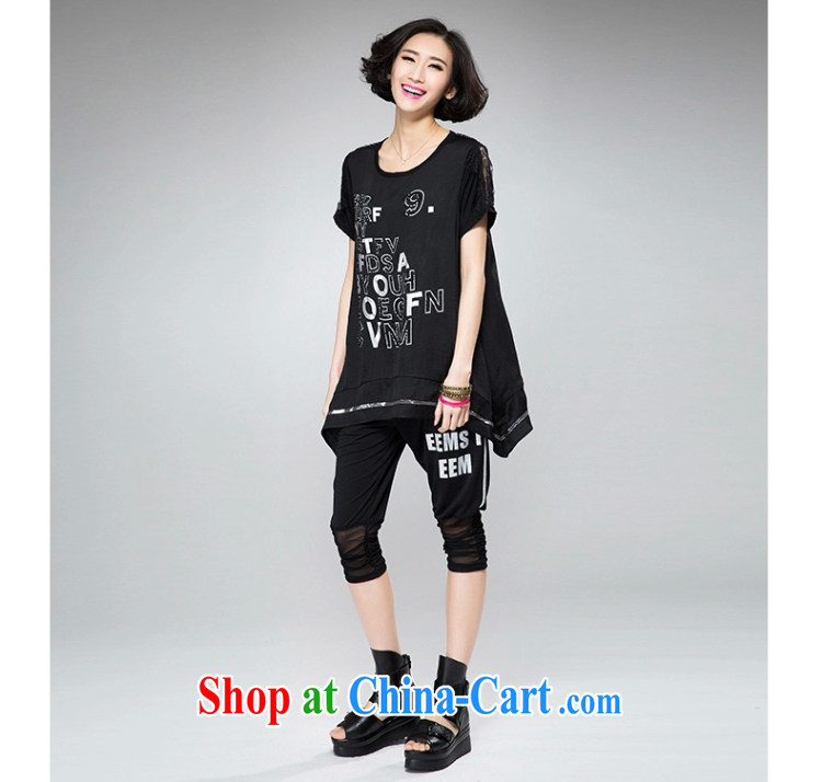 The Gore level, summer 2015 new Korean version 200 Jack the Code women mm thick loose video thin T-shirt black 4XL pictures, price, brand platters! Elections are good character, the national distribution, so why buy now enjoy more preferential! Health