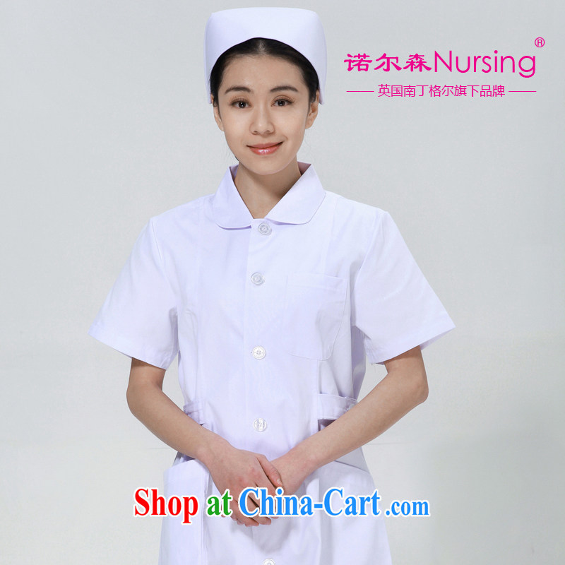 The Nightingale, Knowlson Nursing Service NS - 01 short-sleeved Doctors serving robes clothing female summer white L