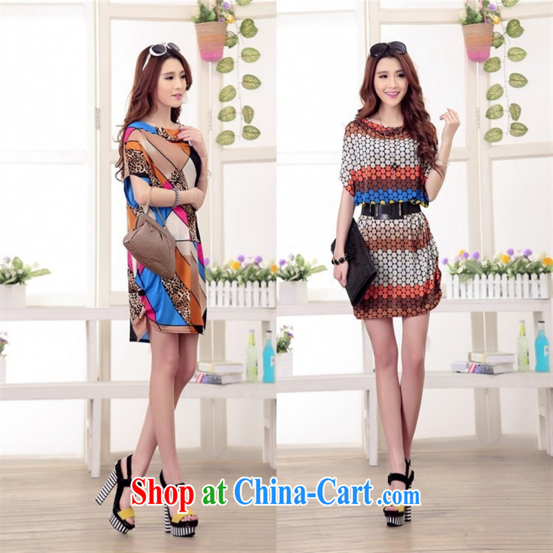 9 months female _ summer ice Silk Dresses loose waves than with the Code women's clothing thick sister belt dress a total number of the message with suit are code