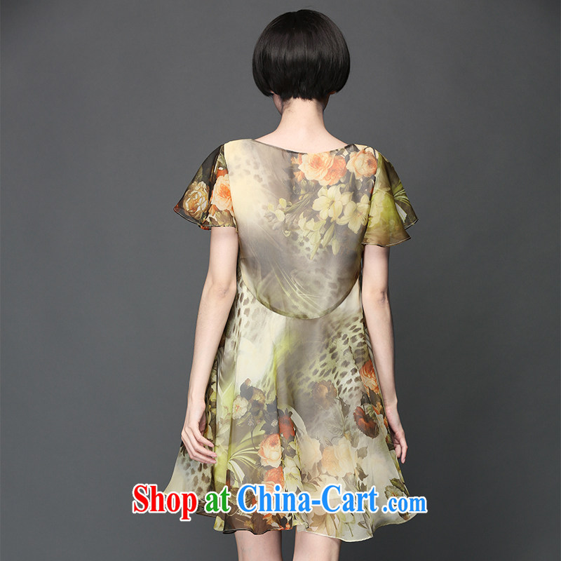 Director of 2015 summer new in Europe and America, and indeed increase, female MM graphics thin ice woven Dress Suit 2055 the code 3 160 XL about Jack, and Director (Smeilovly), online shopping