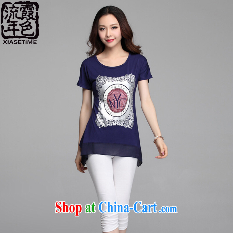 color, class, code female 2015 summer thick MM graphics thin 666 dark blue 666 2 XL _135 - 145 _ jack