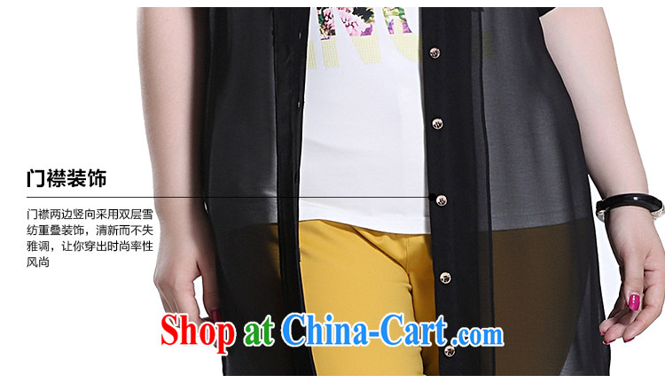 Slim Li-su 2015 summer new, larger female Solid Color leisure lapel arm cuff thin and long, long shirt jacket Q 8697 black 5 XL pictures, price, brand platters! Elections are good character, the national distribution, so why buy now enjoy more preferential! Health