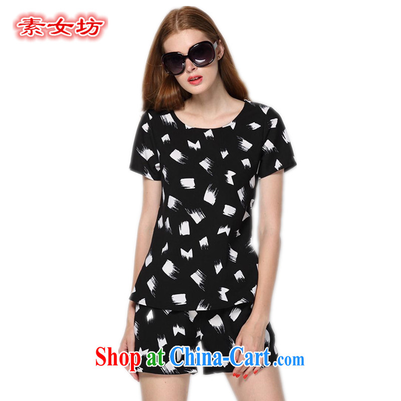 Women of the workshop code women mm thick summer casual wear snow woven package girls shorts thick sister graphics thin 200 9111 Jack Black 5 XL recommendations 185 - 210 jack