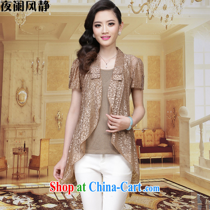 My diaphragm wind spring 2015 summer new women beauty with two-piece lace mother loaded the code load A 174 card the color 3 XL