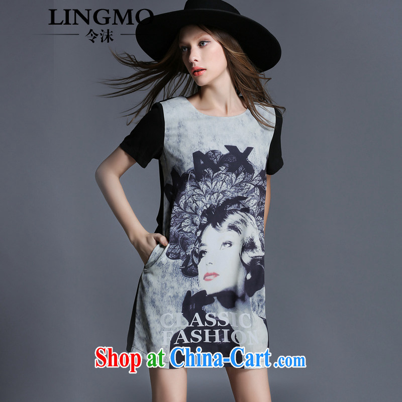 The spray high-end European and American large, female video thin dress girls summer new thick sister who stamp snow woven dresses hidden cyan Europe big wind 4 XL recommendations 161 - 175 jack