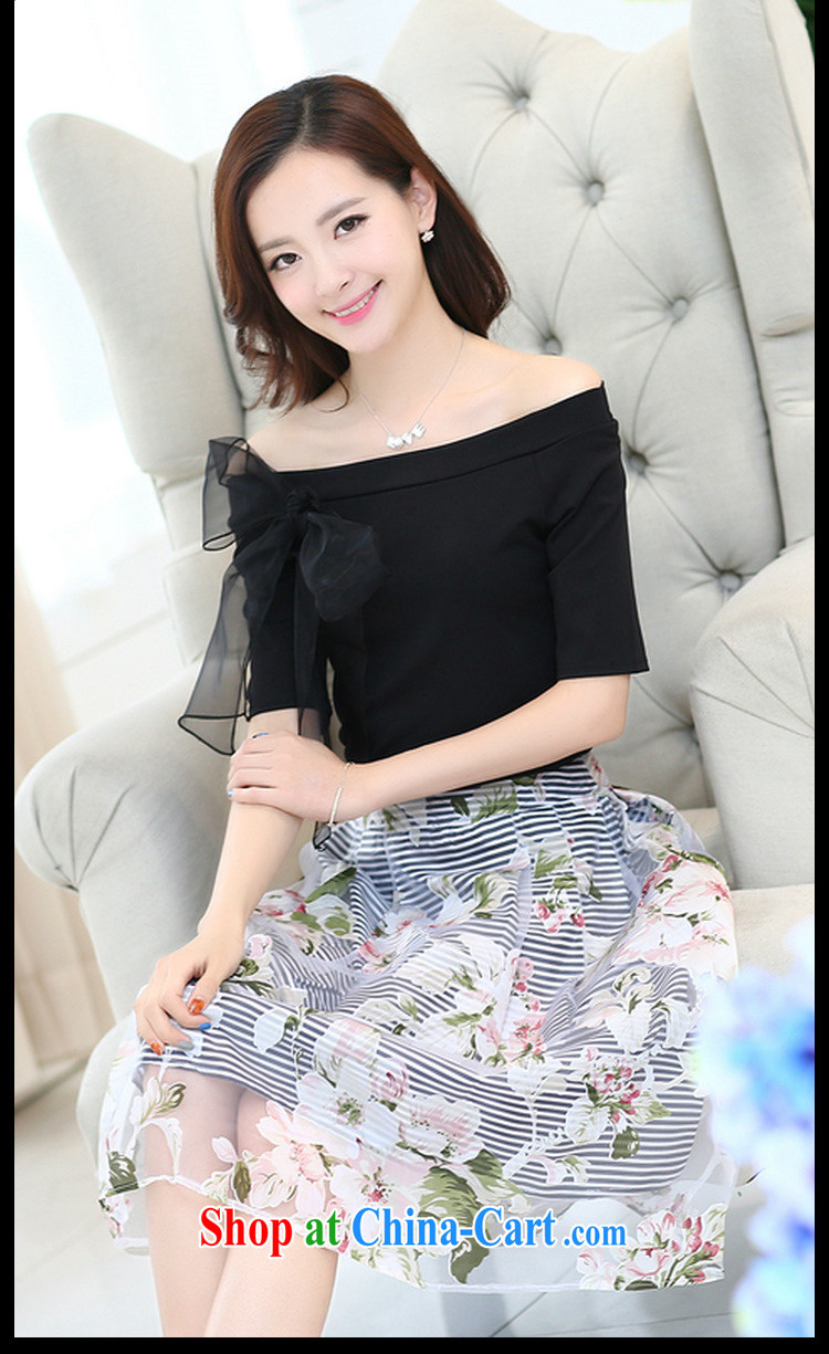 Abundant Ming summer 2015 larger graphics thin a field for stars with bowtie stamp shaggy dress new dress girls black XXL pictures, price, brand platters! Elections are good character, the national distribution, so why buy now enjoy more preferential! Health