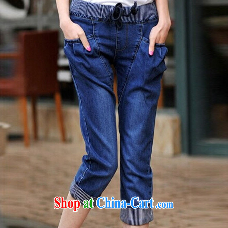 Korea was in accordance with the Code's 2015 mm thick summer 200 Jack Harlan pants larger female Trouser press 7 pants girl jeans picture color XXXL