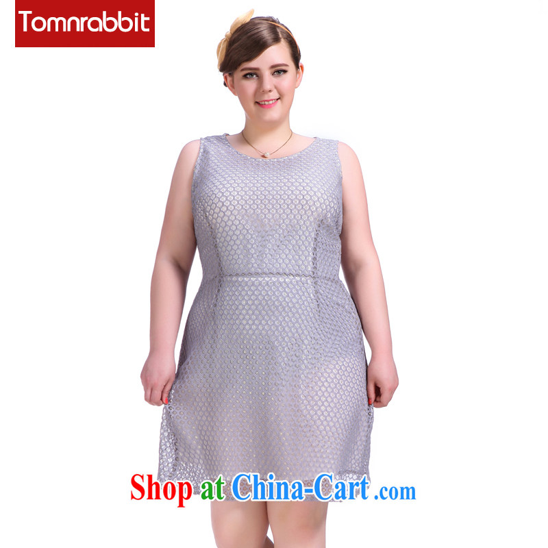 In summer 2015, the girls are pure color lace dresses thick sister graphics thin sleeveless dresses picture color the code XL (pre-sale June 12 Shipment)