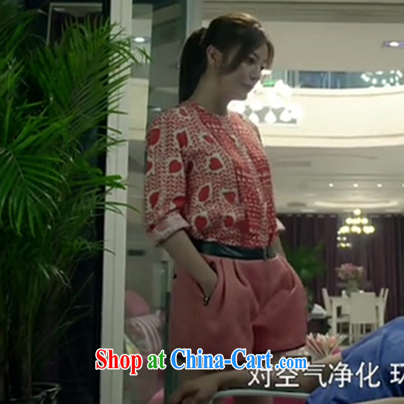 Cheuk-yan Zi spent 2015 Tiger mother cats and win their contribution and Zhao Wei, with a short-sleeved + shorts package the code 1:1 Original Picture Quality Color XXXXXL, Cheuk-yan Zi spend, shopping on the Internet