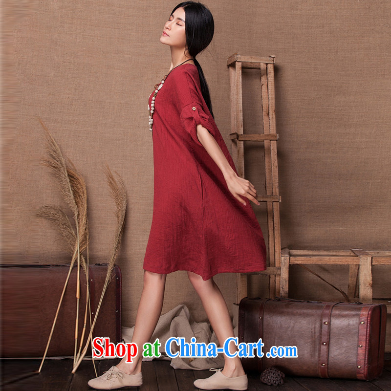 ZN Yau Ma Tei cotton Dress Shirt 618 urged the new single snap loose soft simple sum girl, temperament style volume long-sleeved handsome, large, blouses wine red, code, ZN, shopping on the Internet