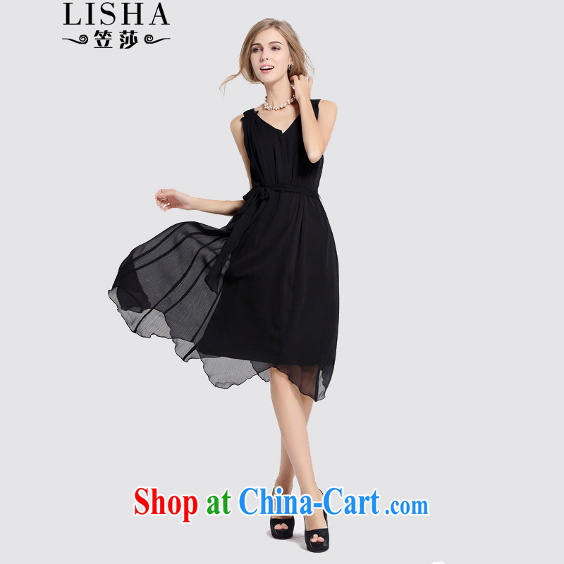 She considered the fat XL women dresses 2015 summer mm thick sister large snow in woven long skirt skirt beach thick girls with graphics thin black XXXL