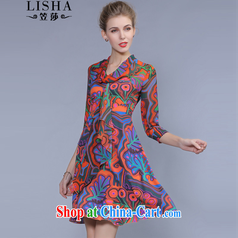 Elizabeth considered new, and indeed increase, female 7 cuff thick mm sister in solid cuff skirt floral King Size Code dresses summer 0335 photo color XXXL
