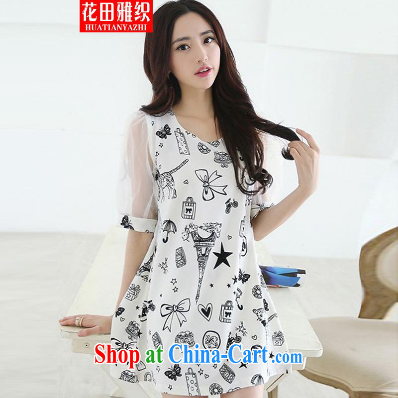 Flowers, 2015 organization the code female and indeed increase, female 200 Jack cuff in graphics thin thick sister dresses picture color XXXL